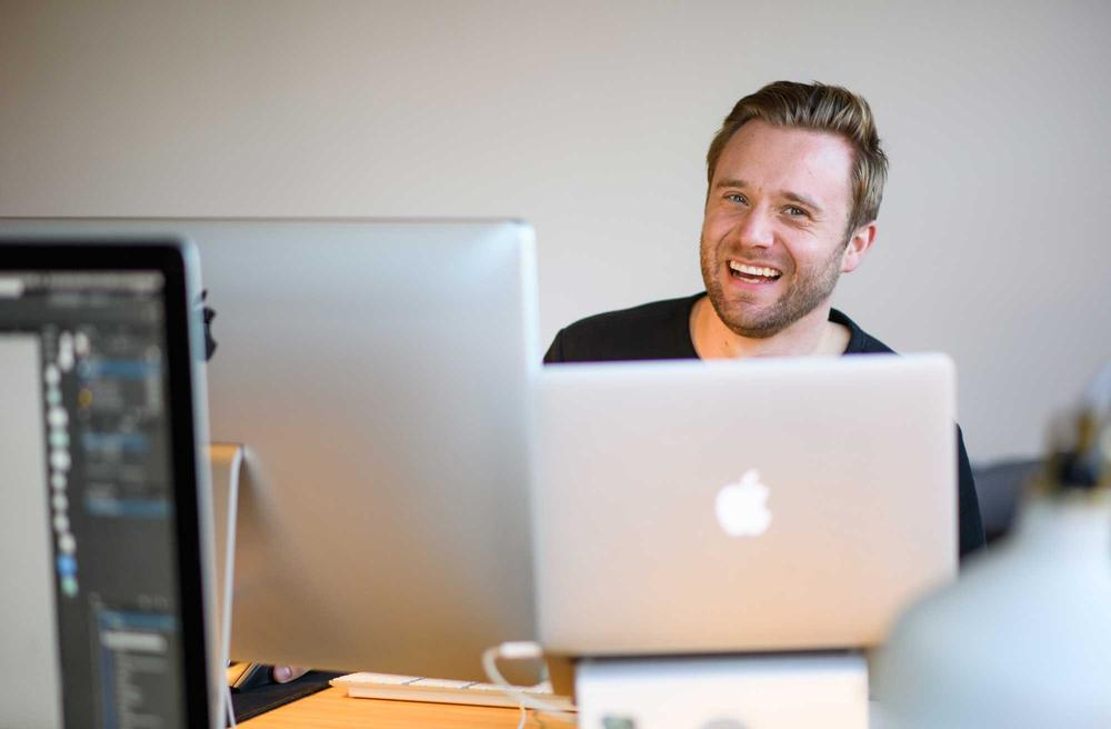<p>Account Manager Nick Seid</p>