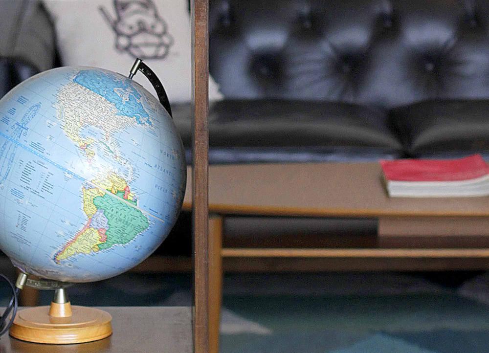 <p>coffee on desk in creative brand design studio</p>