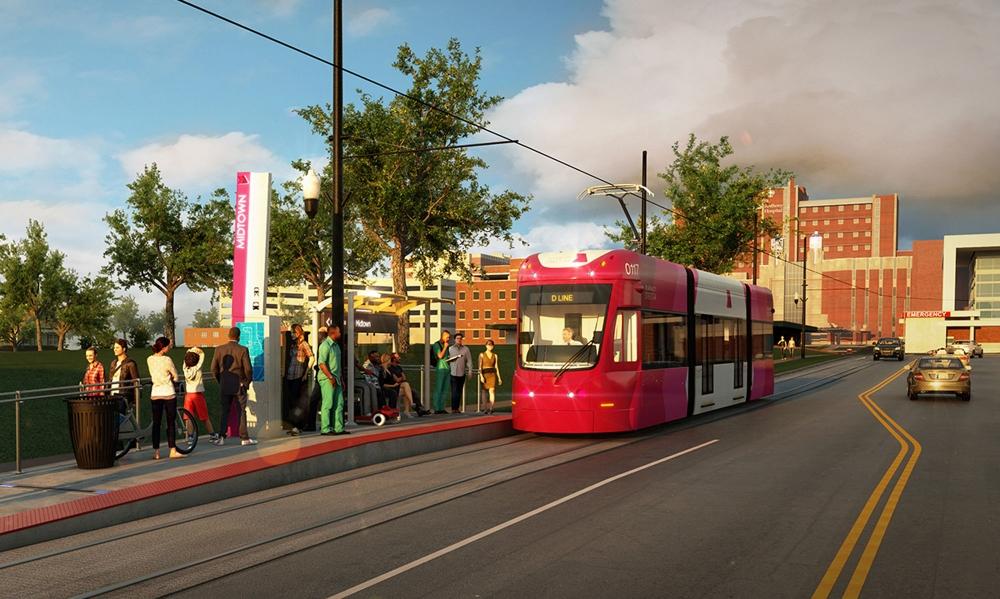 Mutige Straßenbahn hielt an — foto 2