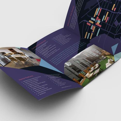 <p>Apartment Building Print Brochure Design</p>